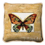 Butterfly Art Tapestry Pillow
