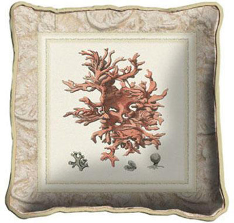 Sea Coral II Art Tapestry Pillow