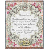 Marriage Blessing II Art Tapestry Throw
