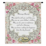 Marriage Blessing II Art Tapestry Wall Hanging