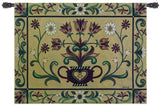 Germanic Inspired Floral Art Tapestry Wall Hanging