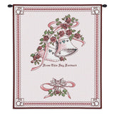 Matrimony Art Tapestry Wall Hanging, Pink