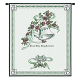 Matrimony Art Tapestry Wall Hanging in Green