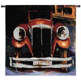 GKR 580 Retro Automobile Art Tapestry Wall Hanging