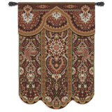 Paradise Cinnabar Art Tapestry Wall Hanging