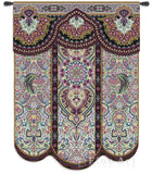Paradise Plum Art Tapestry Wall Hanging