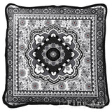 Masala Licorice Art Tapestry Pillow