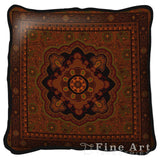 Masala Cinnamon Art Tapestry Pillow