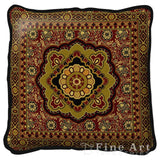 Masala Anise Art Tapestry Pillow