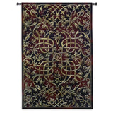 Scrolled Elegance Art Tapestry Wall Hanging