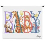 Baby Animals Art Tapestry Wall Hanging