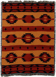 Adobe Tan Southwestern Art Tapestry Throw