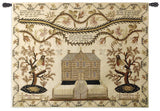 American Sampler Art Tapestry Wall Hanging