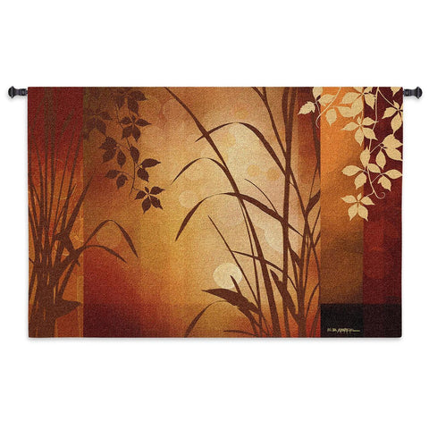 Flaxen Silhouette Art Tapestry Wall Hanging