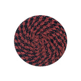 "4"" Round Braided Cotton Blend  Set of 4 Coasters 42-019"