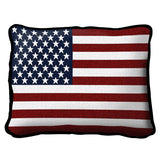 American Flag Art Tapestry Pillow