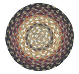 "Bear Vineyard 10"" Round Braided Jute Trivet 46-788"