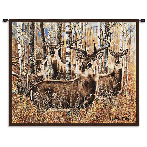 Sudden Encounter Art Tapestry Wall Hanging