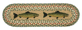 Fish Oval Braided Jute Stair Tread 49-ST009F