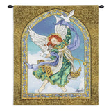 Angel with Doves Art Tapestry Wall Hanging
