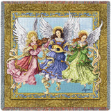Angelic Trio Art Tapestry Lap Throw
