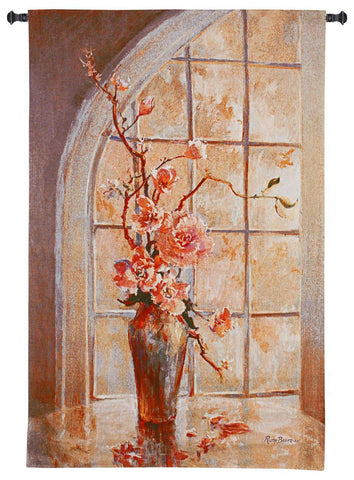 Magnolia Arch I Art Tapestry Wall Hanging
