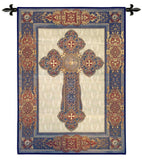 Gothic Cross Art Tapestry Wall Hanging