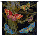 Woodland Butterflies Art Tapestry Wall Hanging