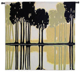 Contemporary Woodland Scene Art Tapestry Wall Hanging