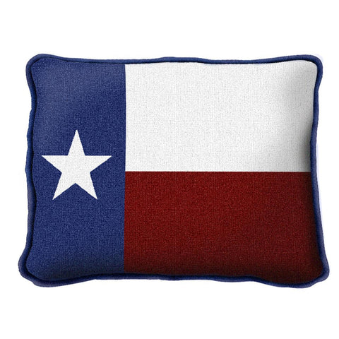 Texas Flag Art Tapestry Pillow