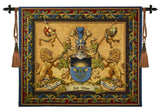 Heraldic Crest Art Tapestry Wall Hanging