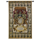 Crests of Kings Art Tapestry Wall Hanging