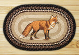 "Fox Oval Braided Jute 20""x30"" Rug 65-313F"
