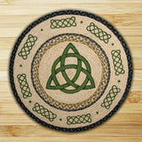 "Irish Knot 27"" Round Braided Jute Rug 66-116IK"