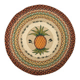 "Pineapple 27"" Round Braided Jute Rug 66-375P"