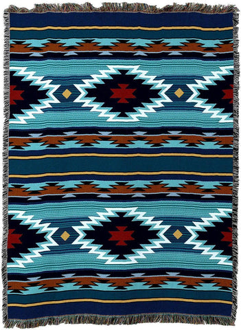 Balpinar Southwestern Art Tapestry Throw