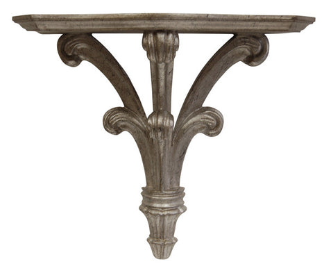 Classical Large Bracket Wall Shelf in Shimmer Finish