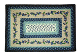 "Blueberry Vine Rectangle Braided Jute 20""x30"" Rug 67-312BV"