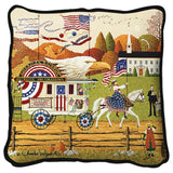So Proudly We Hail Art Tapestry Pillow