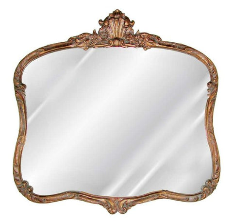 French Buffet Wall Mirror Antique Reproduction in 60 Colors