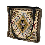 Sand Painted Hills Southwestern Style Art Tapestry Tote Bag