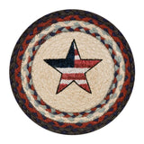 "American Star 10"" Round Braided Jute Trivet Set of 2 #80-015AS"