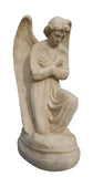 Angel Kneeling in Worship Statue in 60 Colors