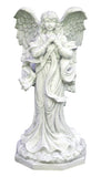 Grateful Girl Angel Statue in 60 Colors