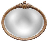 Federal Wall Mirror Antique Reproduction, Antique Gold Color Finish