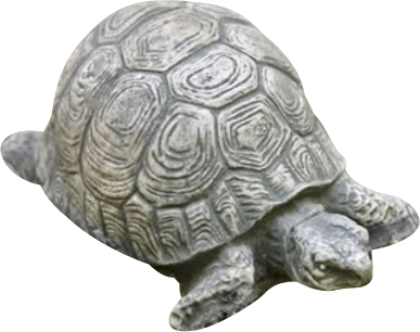 Tortoise Key Safe Outdoor Statue in 60 Colors