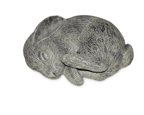 Sleeping Bunny Key Safe Outdoor Statue in 60 Colors