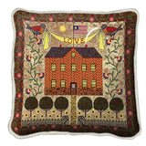 Home Sweet Home Art Tapestry Pillow