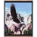 Let Freedom Ring Art Tapestry Throw