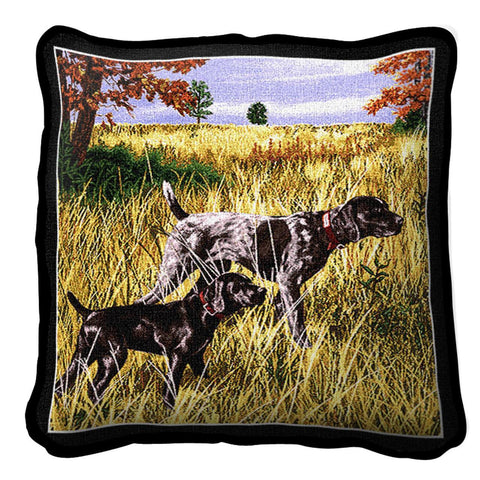 Now We Wait Art Tapestry Pillow